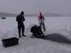 Hańcza pod lodem luty 2011