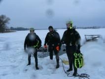Białe pod lodem - styczeń 2010