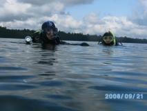 Jezioro Hańcza - wrzesień 2008