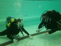 Kurs OWD część basenowa