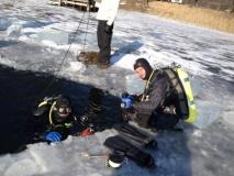 Orłowskie pod lodem 11.02.2012.